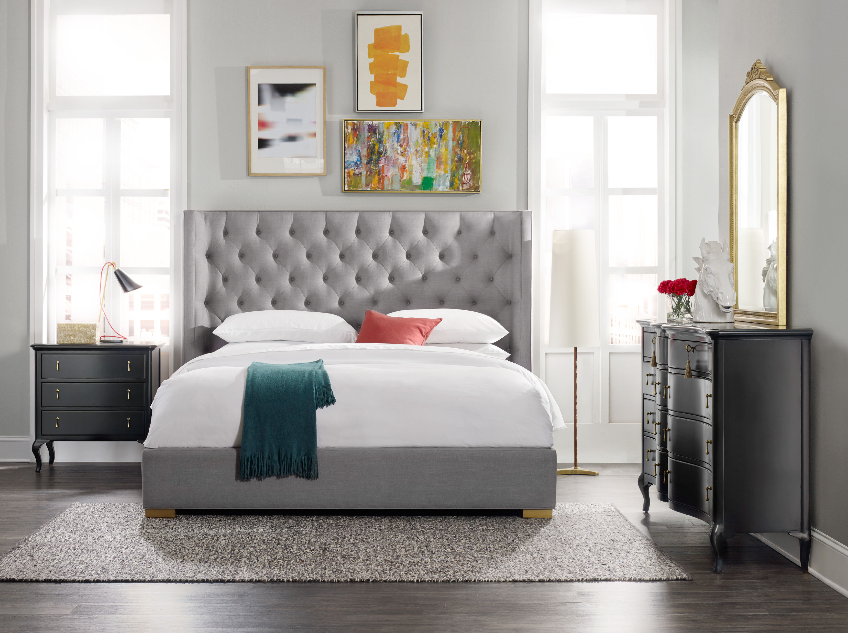 Engaging bedroom furniture sets from cynthia rowley home