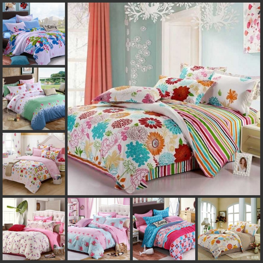Engaging full comforter sets Bed queen size and king bedsize also pillows and cushion combined with headboards and curtains
