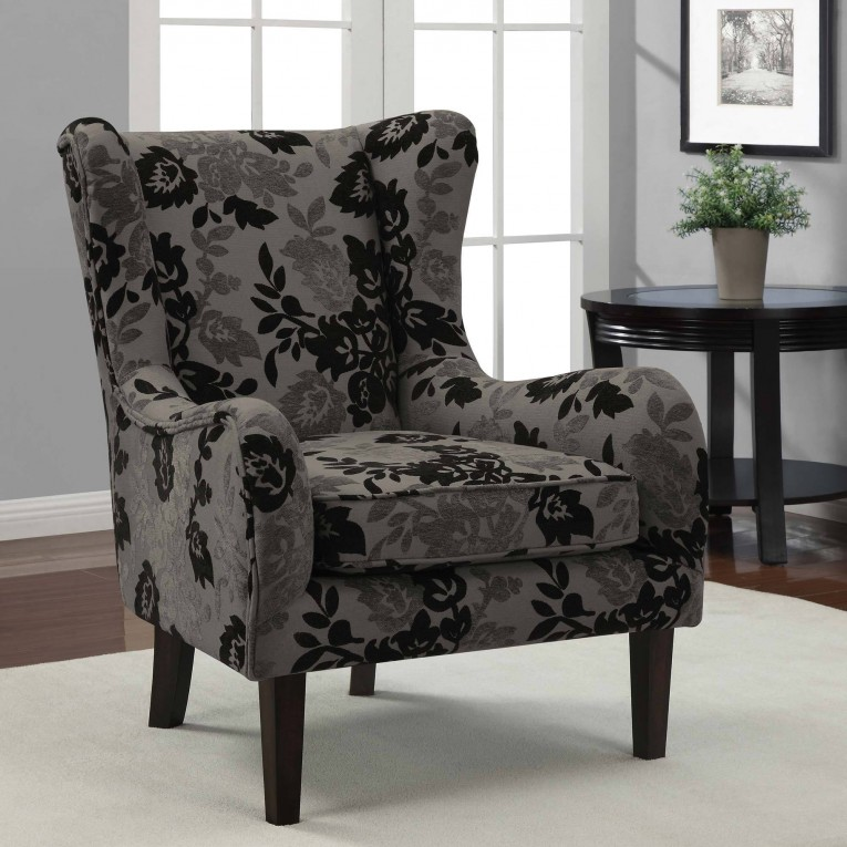 Engaging Wing Back Chair With Solid Strong Wood Furniture Design For Dining Chair And Living Room Chair Ideas