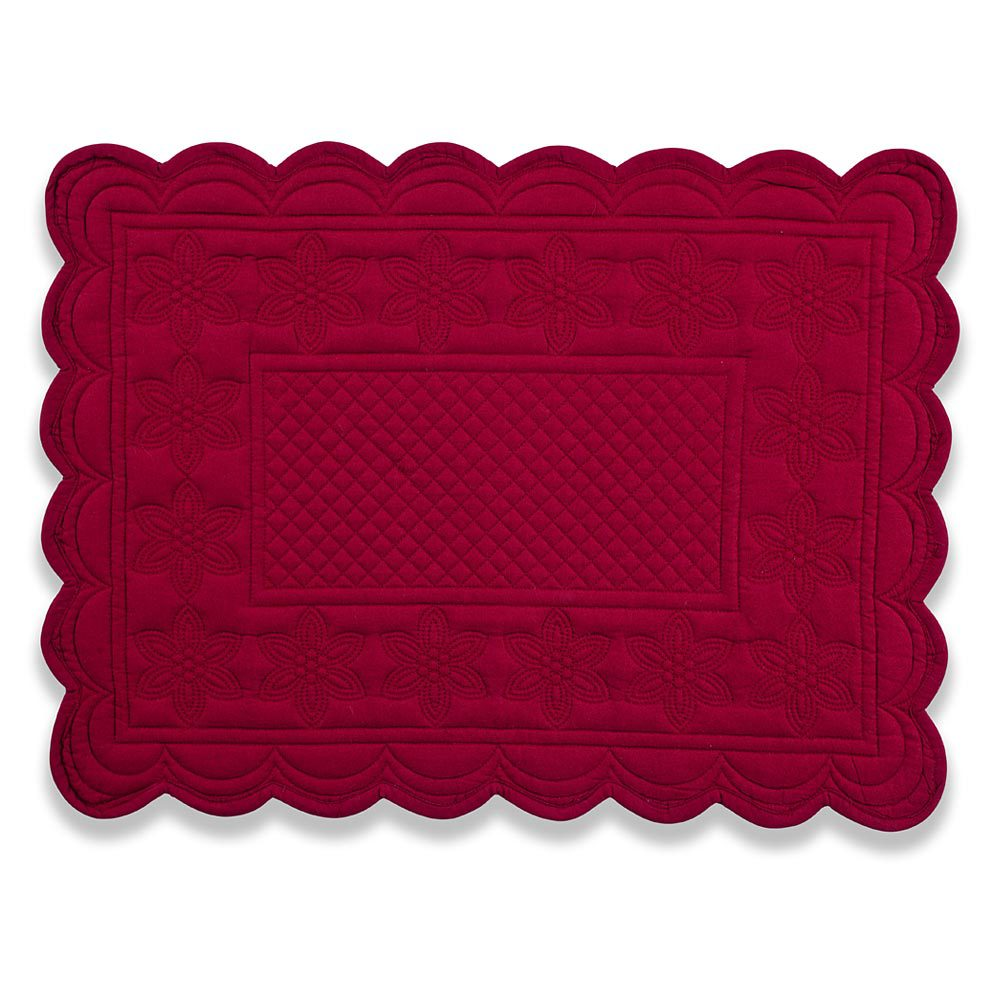 Entrancing mat with variant colors quilted placemats combined decorative color pattern for flooring ideas