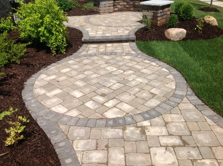 Entrancing Pavers Home Depot For Outdoor Flooring Home Pavers