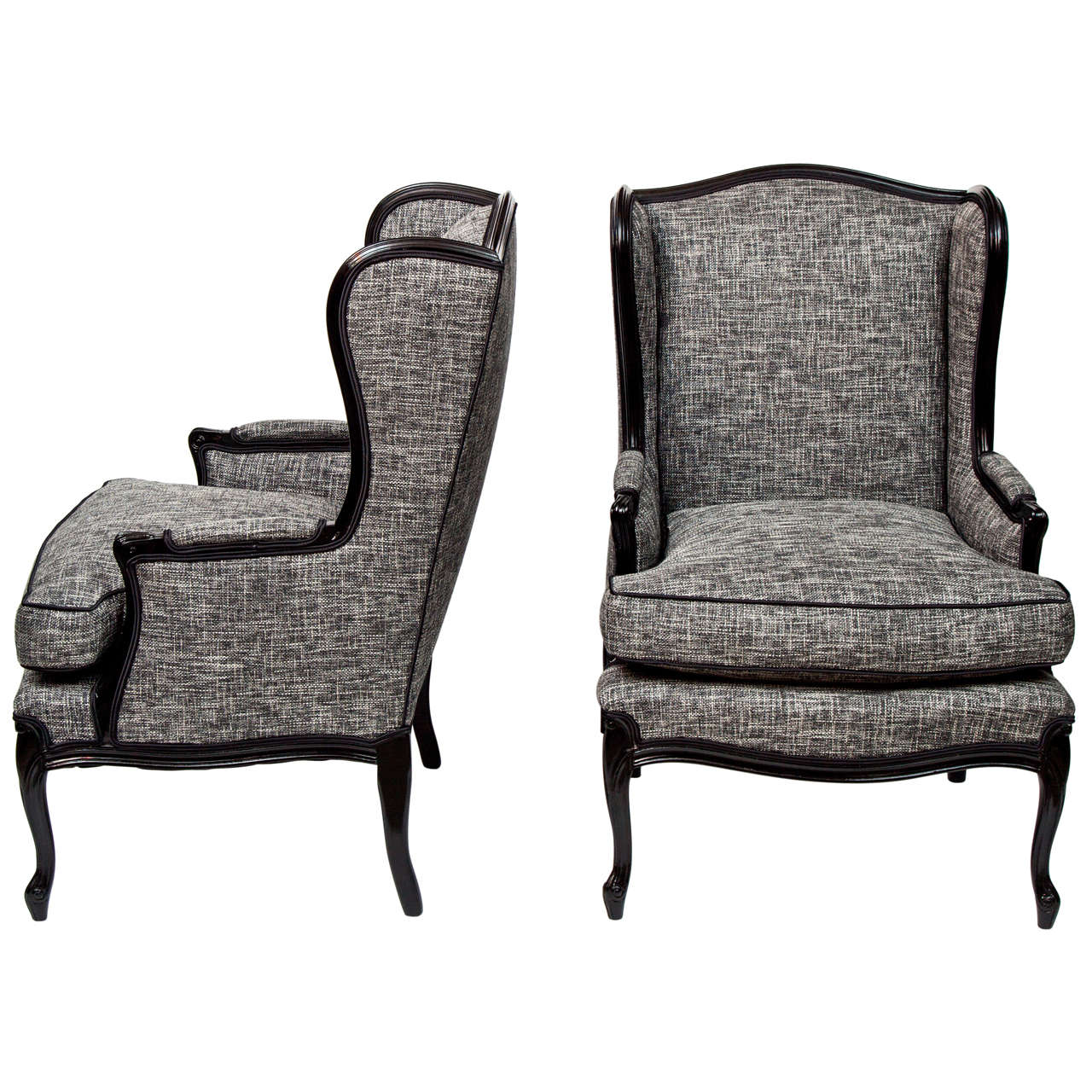 Excellent wing back chair with Solid Strong wood Furniture Design for Dining chair and Living Room Chair Ideas