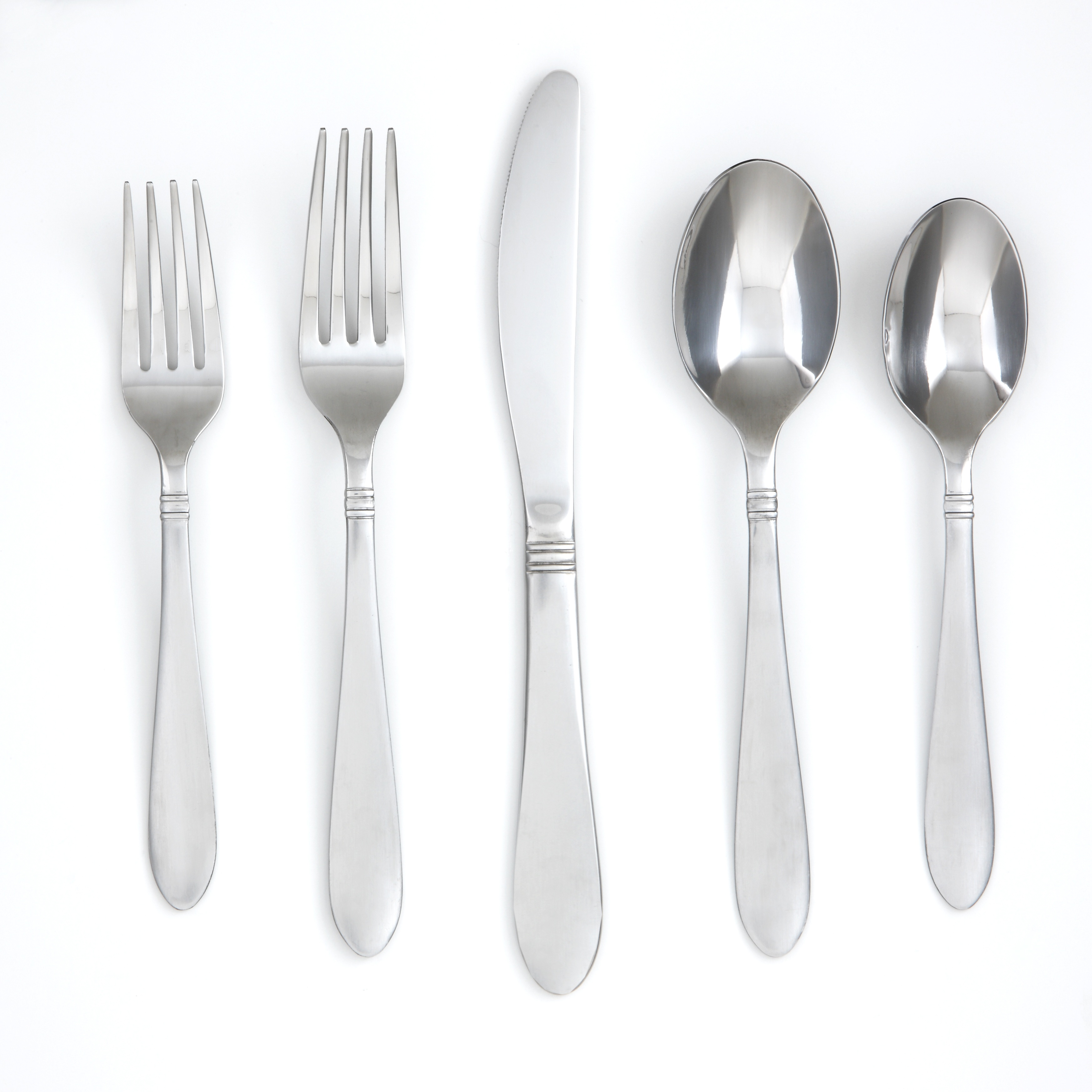 Exquisite cambridge flatware 5 pcs silverware flatware for kitchen or dining Ideas