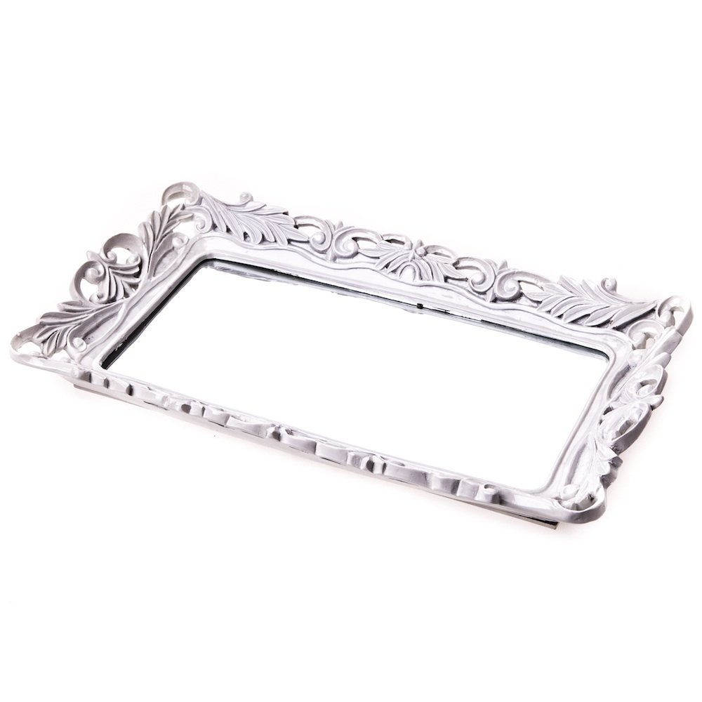 Extraordinary Design Mirror Tray With Modern Design