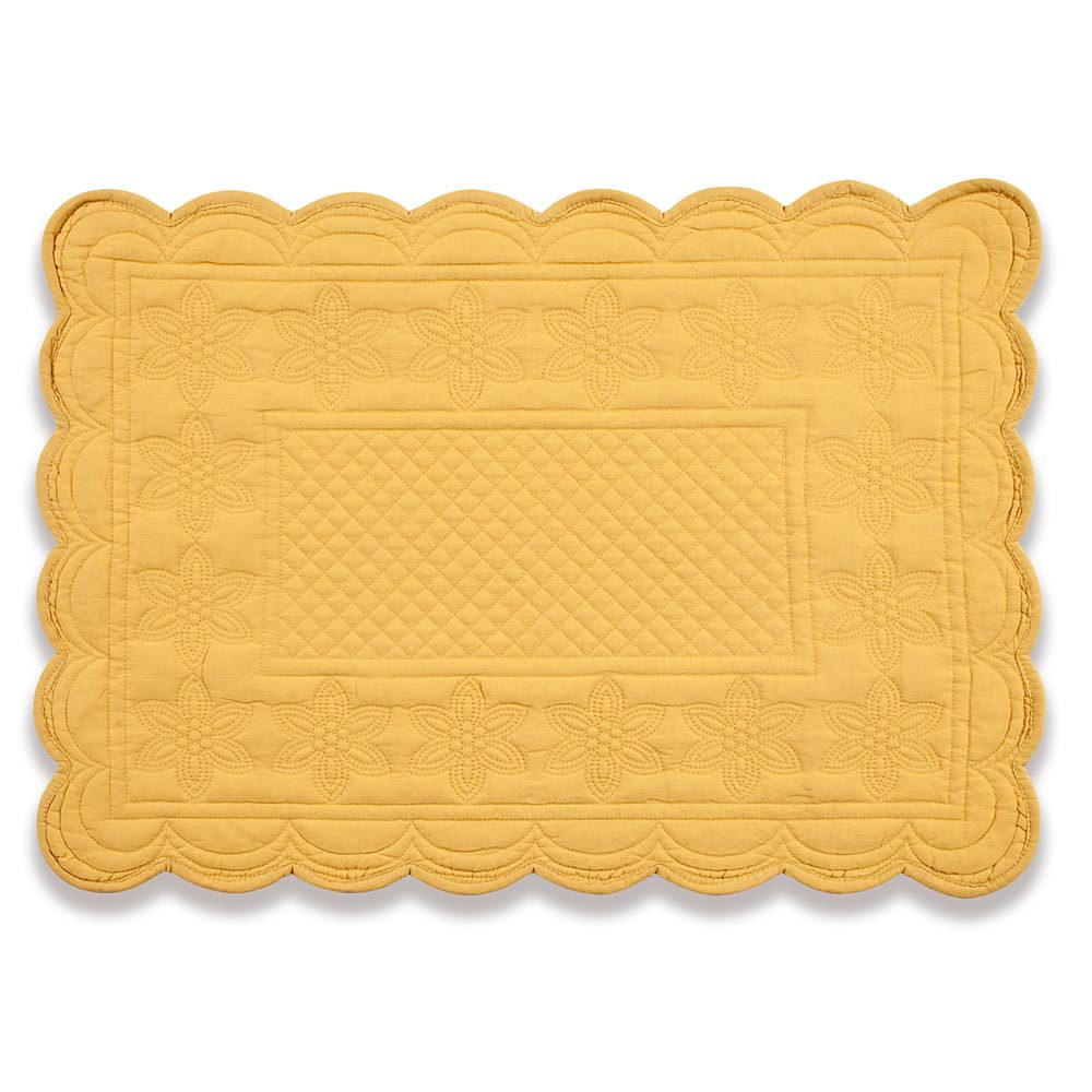 Extravagant mat with variant colors quilted placemats combined decorative color pattern for flooring ideas