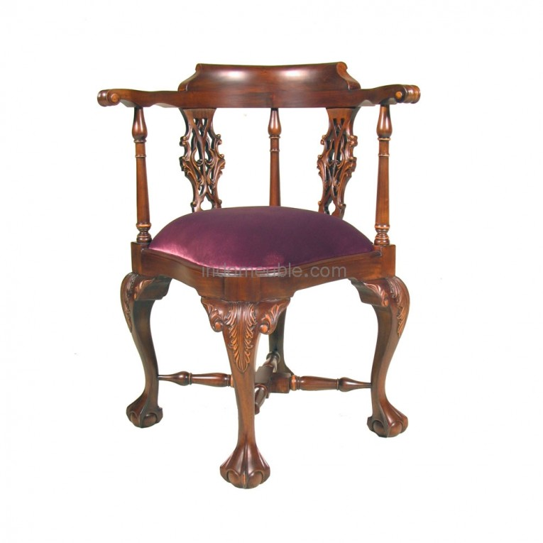 Gorgeous Chippendale Chairs With Solid Strong Source With Fascinating Design For Living Room Ideas