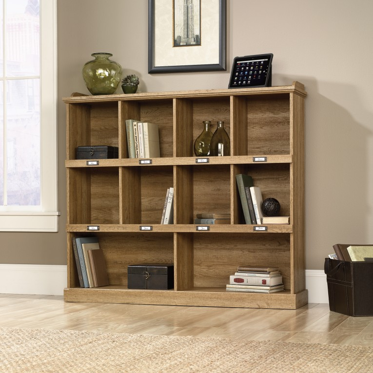 Gorgeous Sauder Bookcases With Rugs And Laminate Flooring Plus Window Treatments For Living Room Ideas