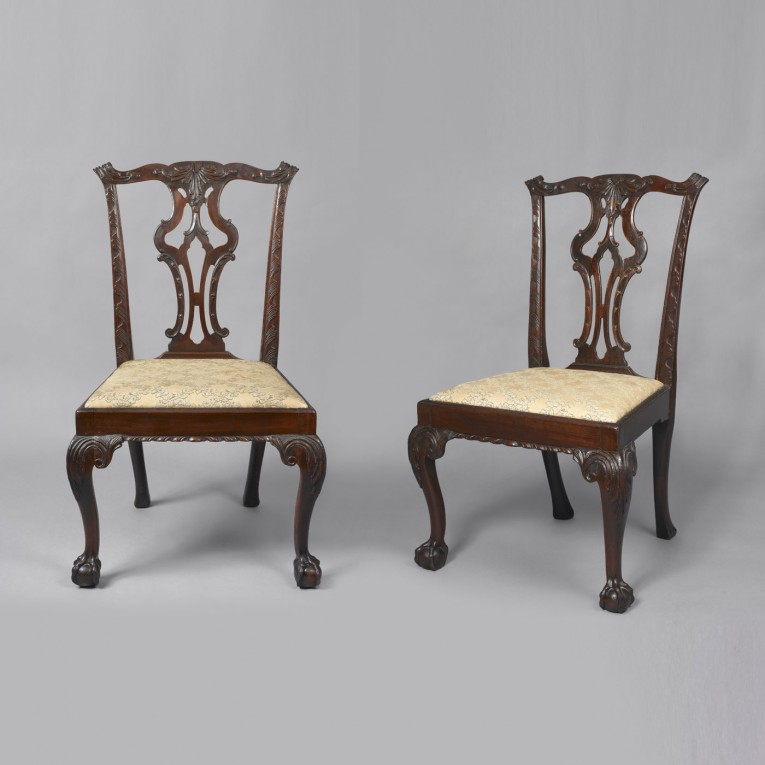 Luxury Chippendale Chairs With Solid Strong Source With Fascinating Design For Living Room Ideas