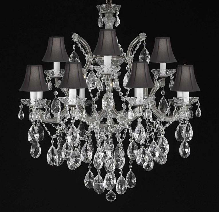 Luxury Design Maria Theresa Chandelier Trimmed Chandelier