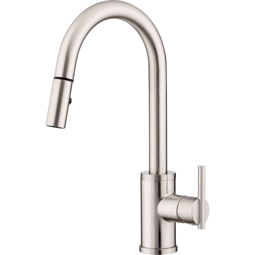 Parma Stainless Design danze kitchen faucets steel modern commercial style for kitchen faucet improvement Ideas