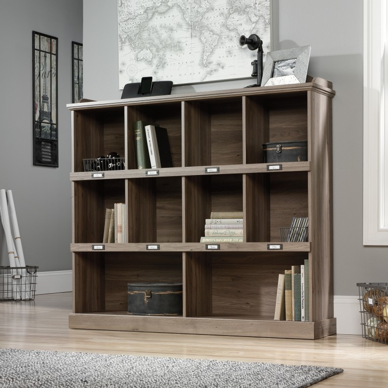 Wondrous Sauder Bookcases With Rugs And Laminate Flooring Plus Window Treatments For Living Room Ideas