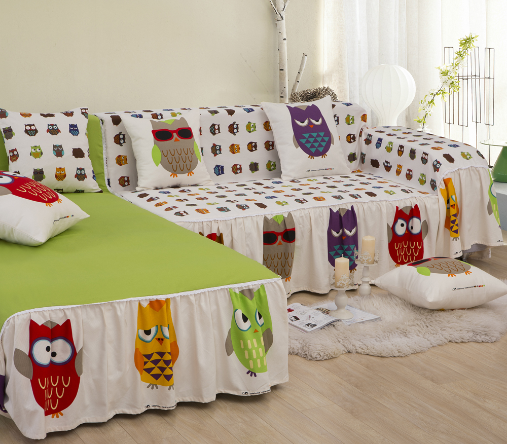anima owl bird sectional sofa covers