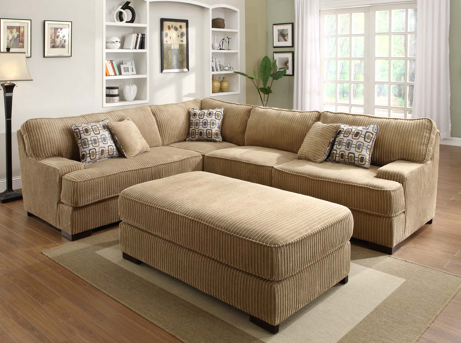 awesome brown sectionals sofas with area rugs