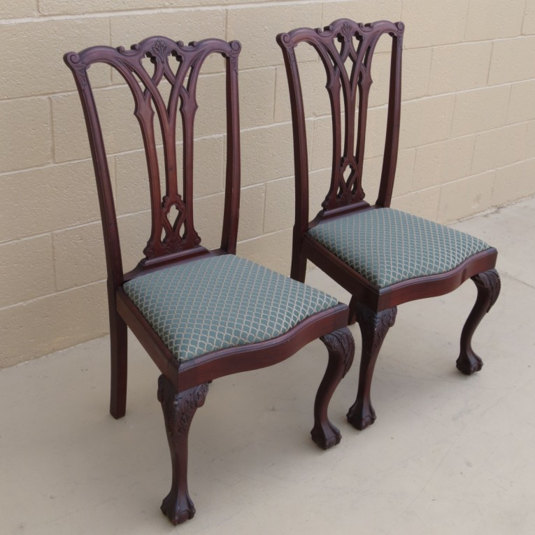 Beautiful Chippendale Chairs With Solid Strong Source With Fascinating Design For Living Room Ideas