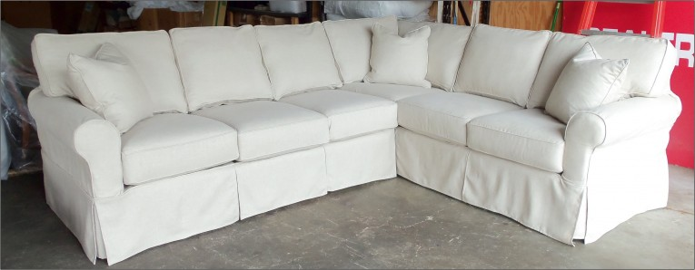 Beautiful White Sectional Sofa Covers