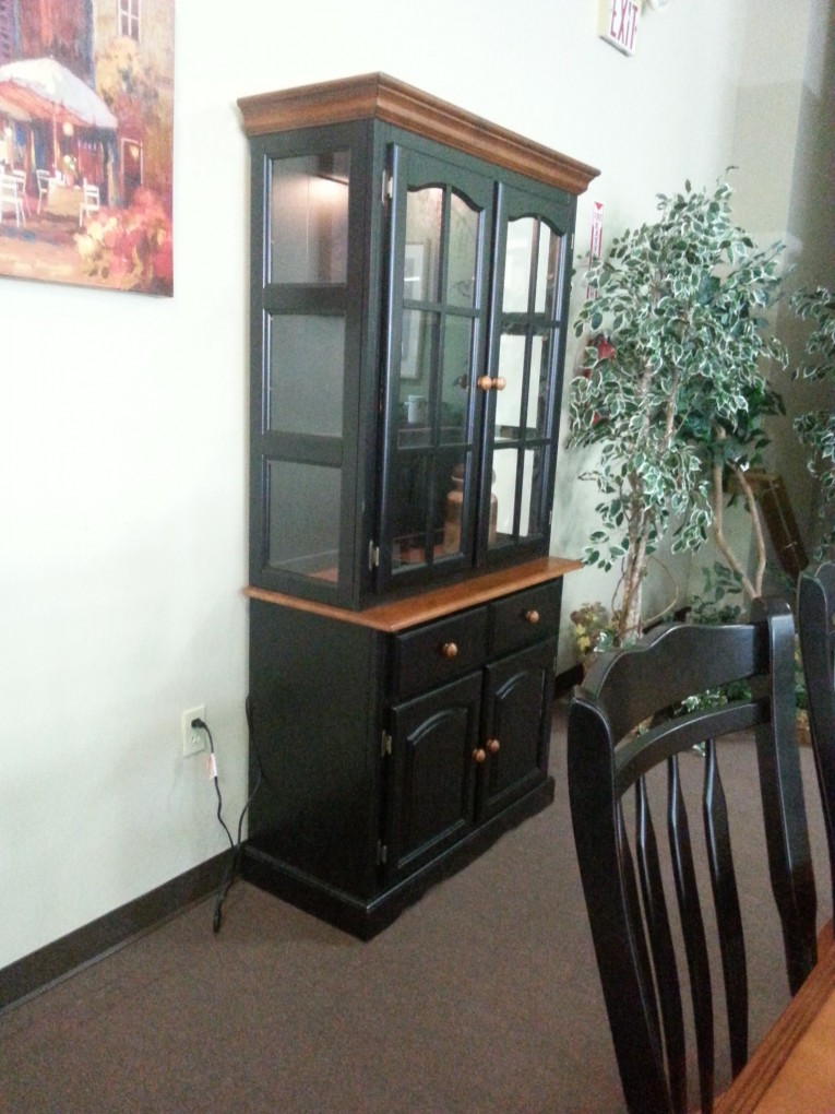 Black Cabinet With Dinette Depot And Wall White Decorating Ideas
