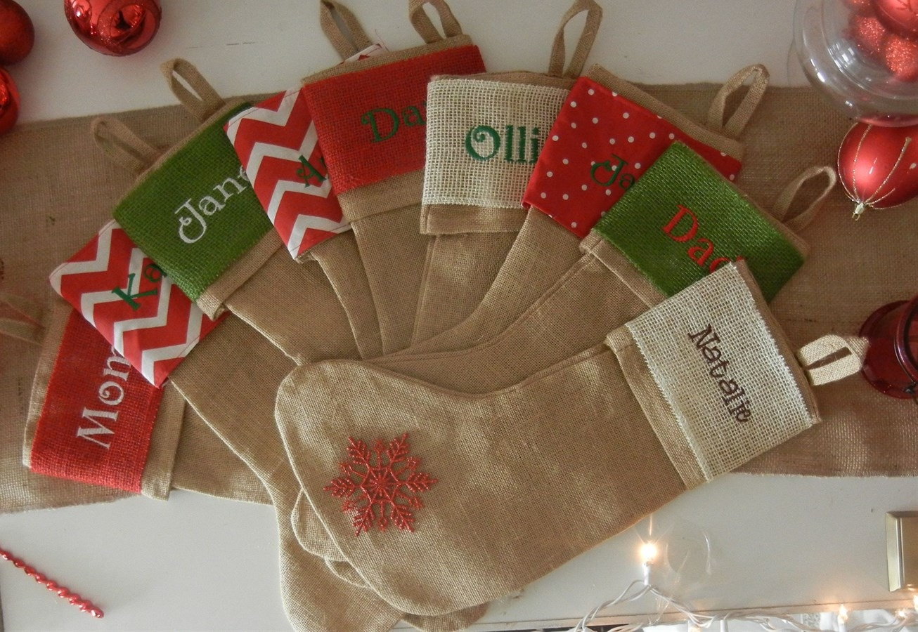 brilliant ideas design monogrammed stockings in the christmas display for living room ideas