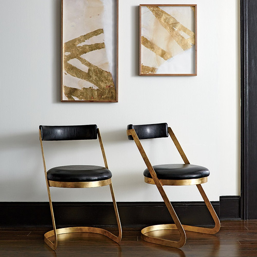 double chairs and pairs of pictur dwellstudio