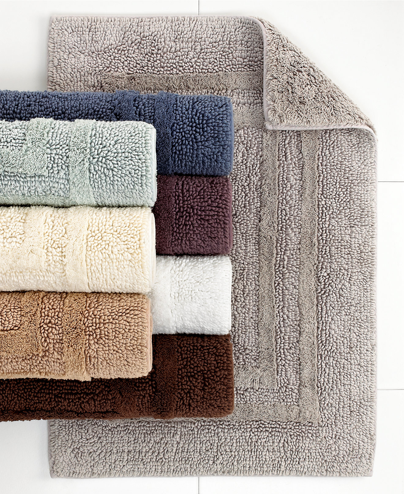 fascinating bath mat with 3 pcs colors