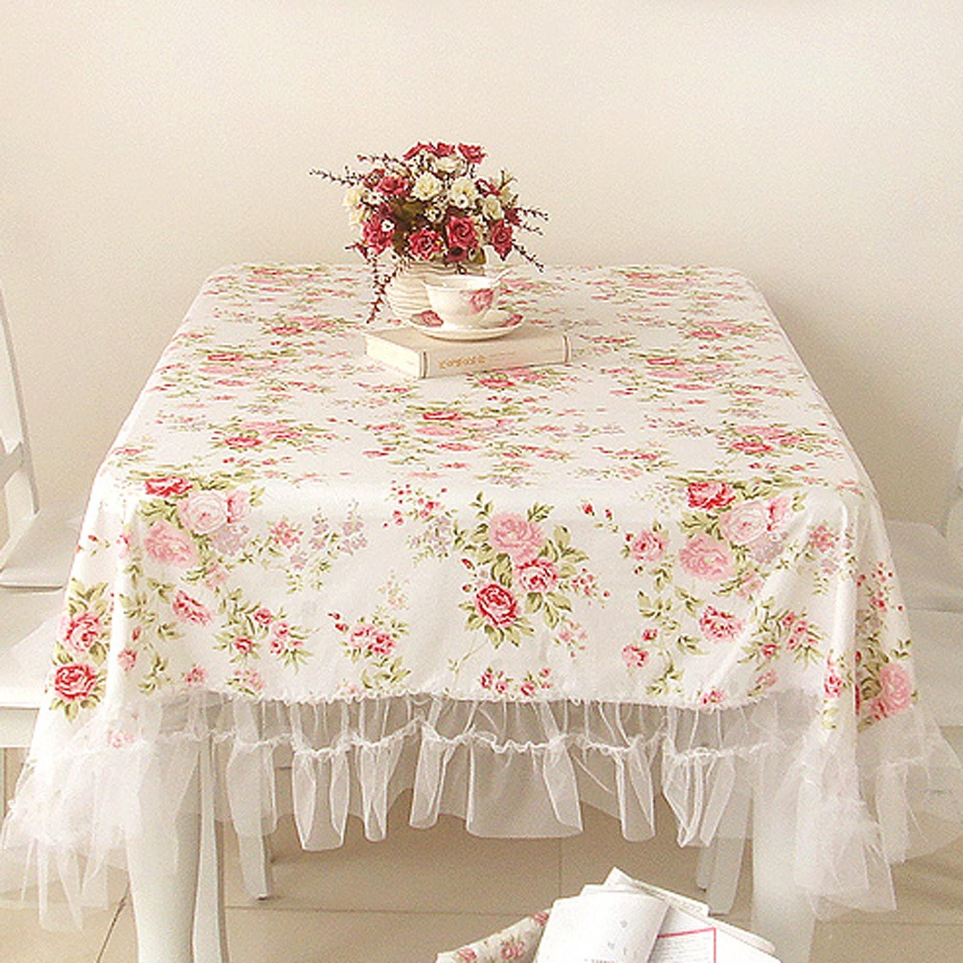 oblong tablecloth