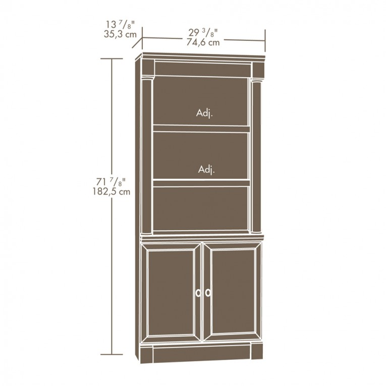 How To Make Plan Sauder Bookcases