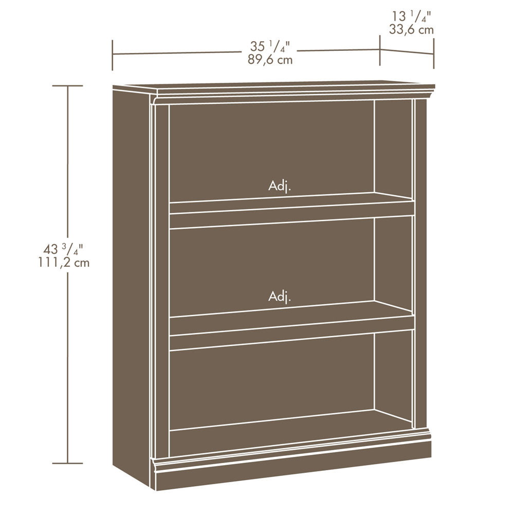 how to make plan sauder bookcases with simple design ideas