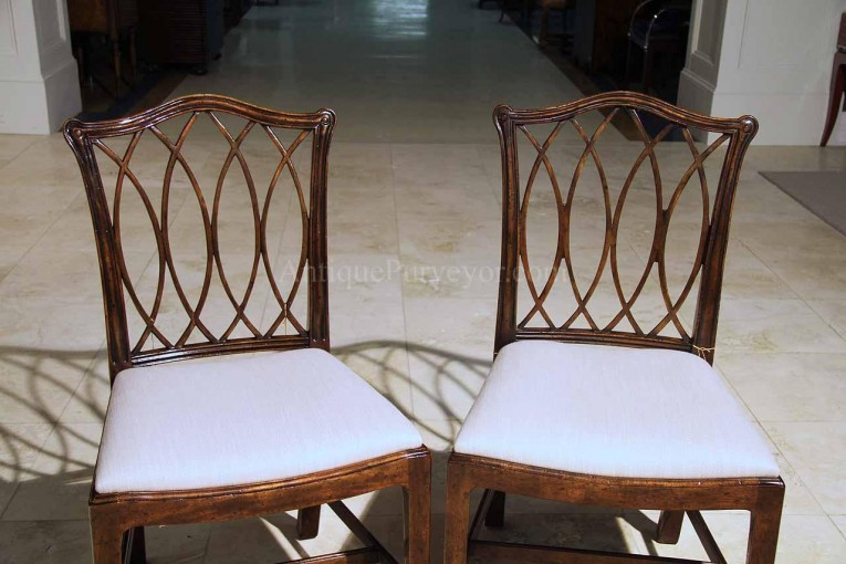 Interesting Chippendale Chairs With Solid Strong Source With Fascinating Design For Living Room Ideas