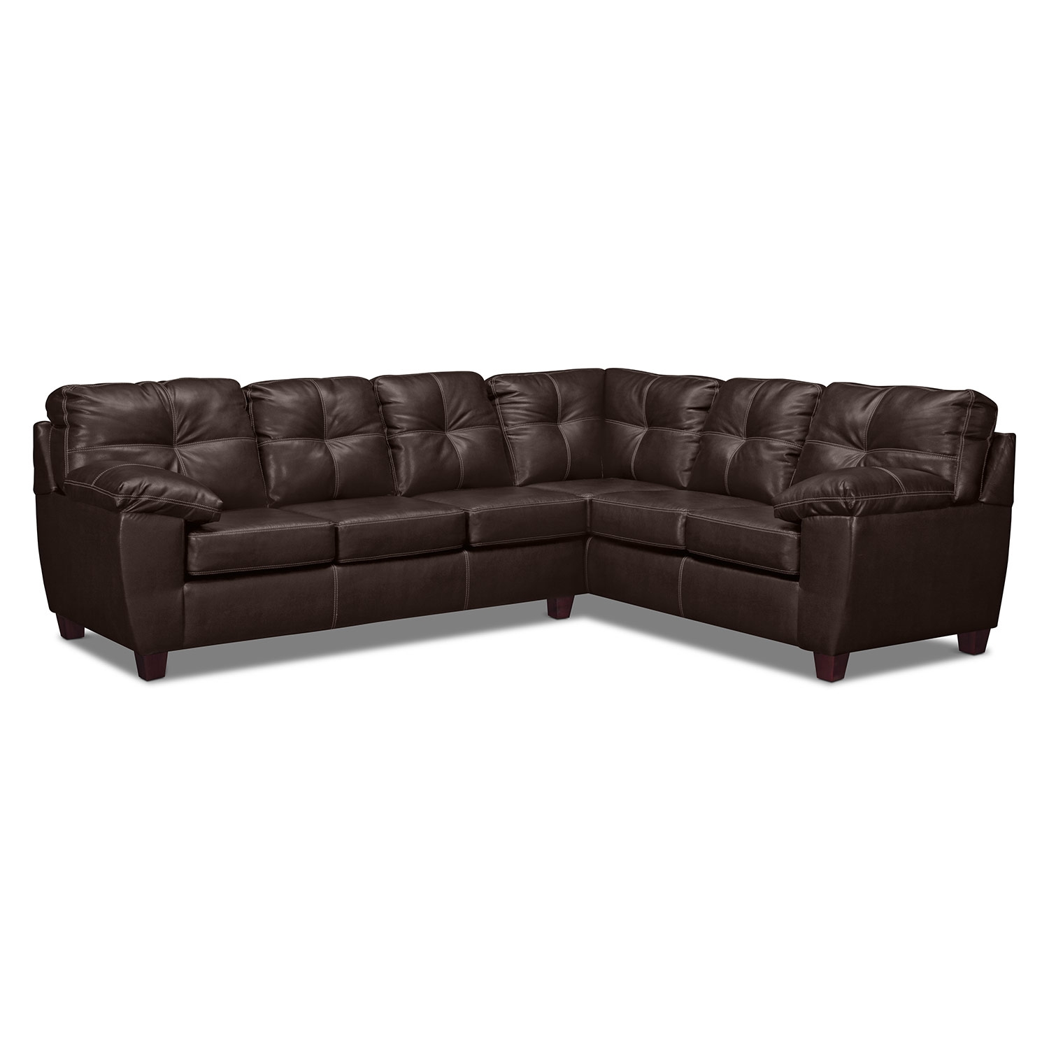 Interesting Leather Sectionals Sofas