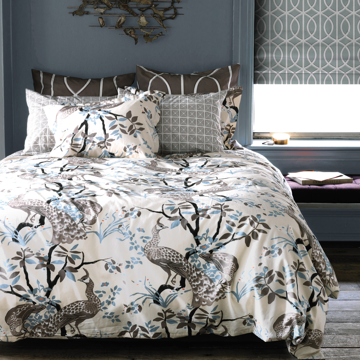 luxury bedsize and dwellstudio