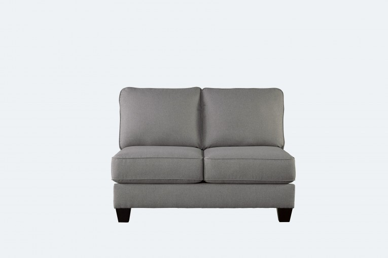 Luxury Decorative Pattern Gray Loveseat For Livingroom Ideas
