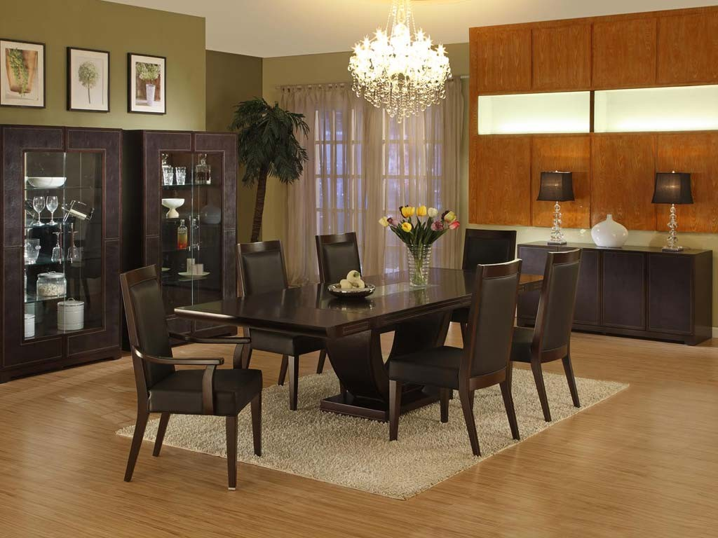 luxury dinette depot with cabinet and dining furniture plus lamps and ceiling lights