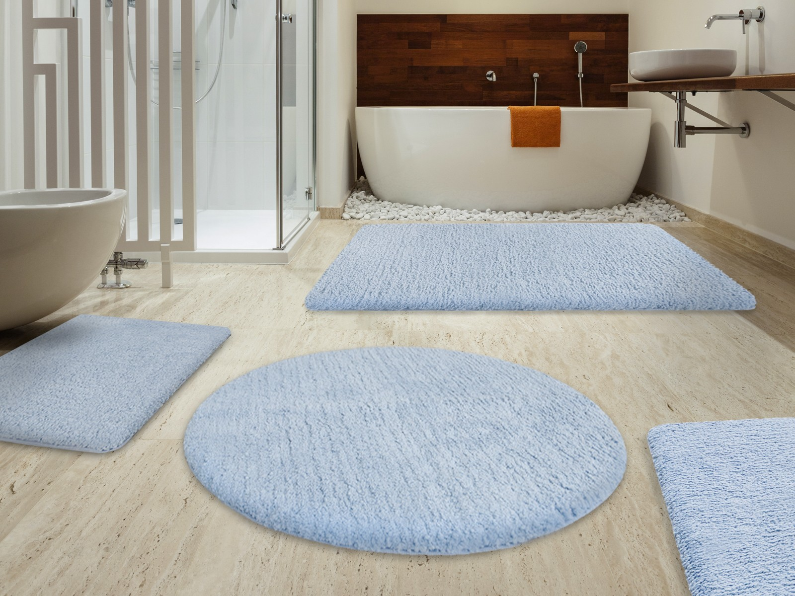 Mesmerizing Bath Mat Set Floor Interior For Bathroom Ideas