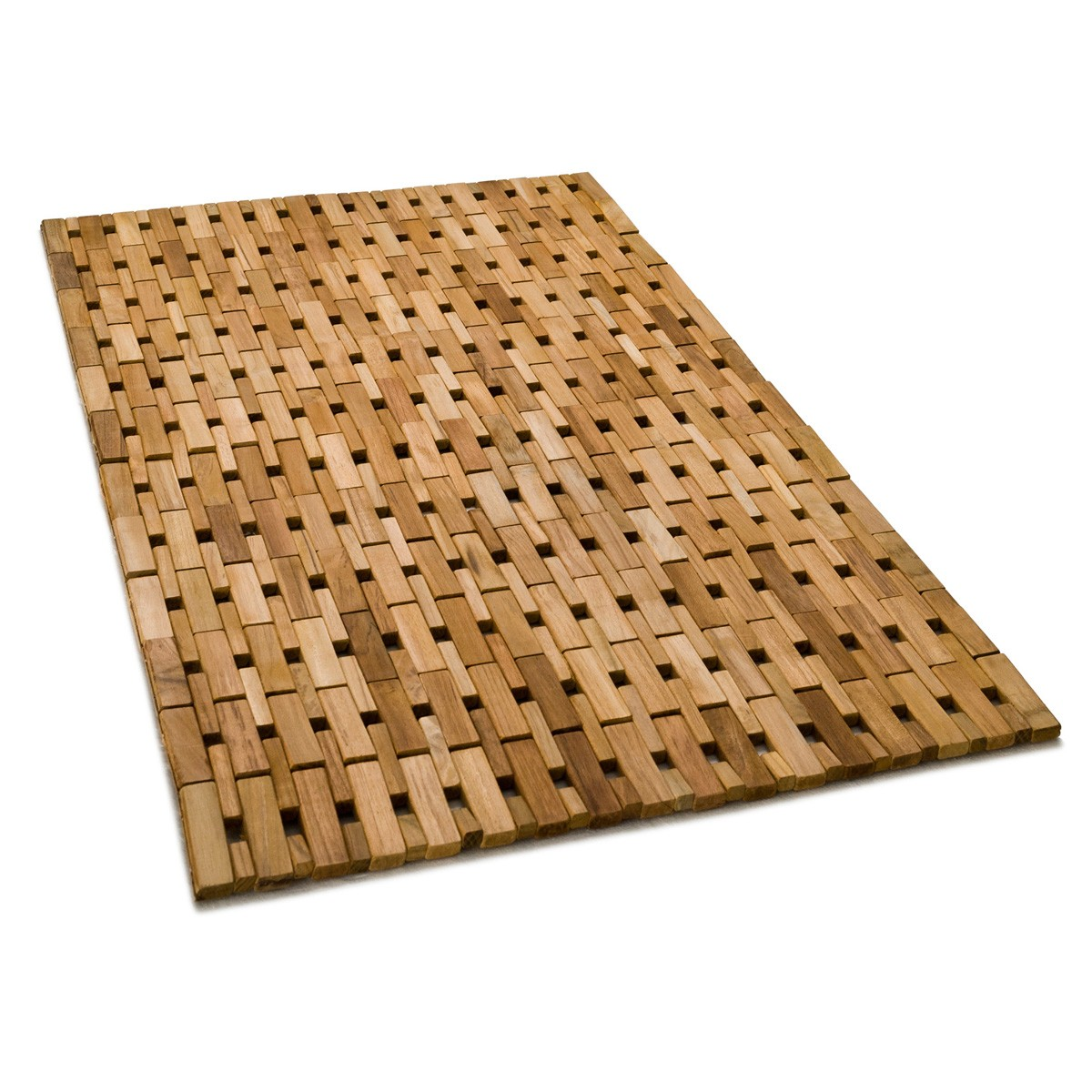 mesmerizing bath mat with luxury design teak bathmath
