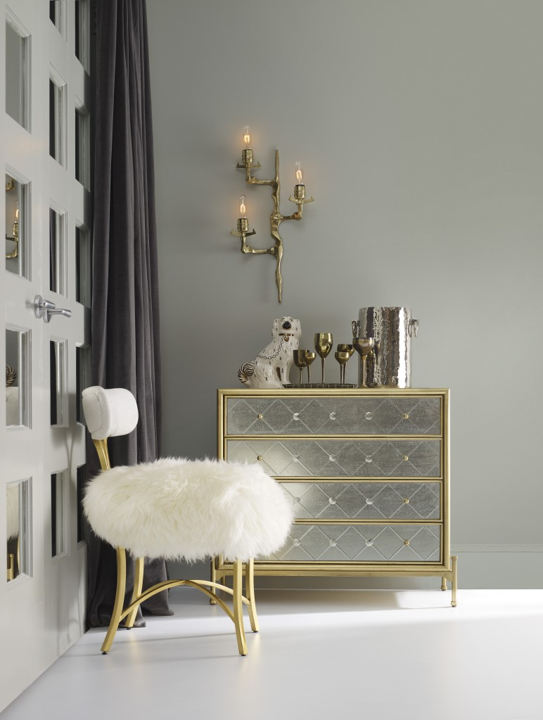 mesmerizing mirrored sideboard and white fluufy chairs seat cushion and cynthia rowley home
