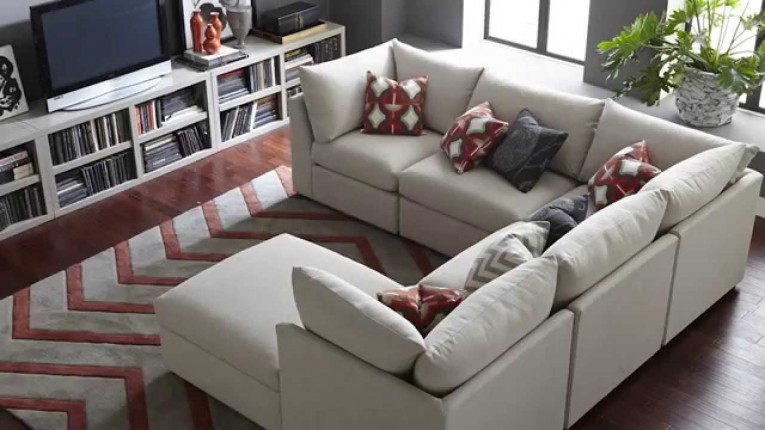 Mesmerizing White Design Sectional Sofa Covers With Rugs And Tv Plasma