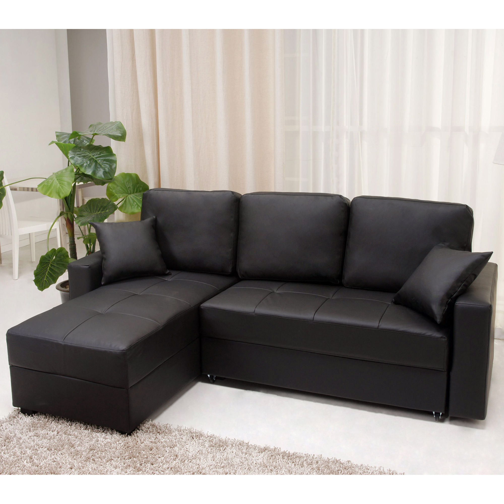 nice black color sectional sofa covers