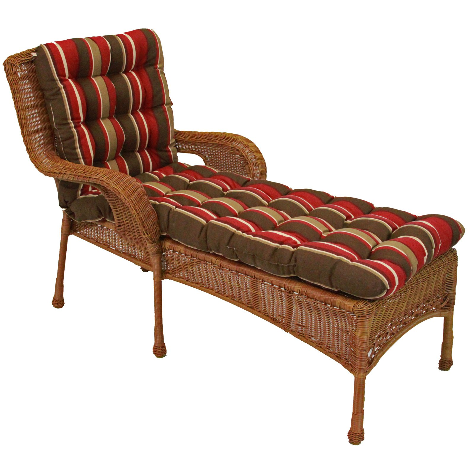 old classic sunbrella chaise lounge cushions