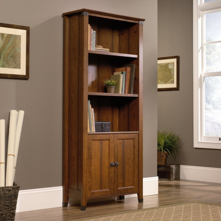 So Good Sauder Bookcases With Rugs And Laminate Flooring Plus Window Treatments For Living Room Ideas
