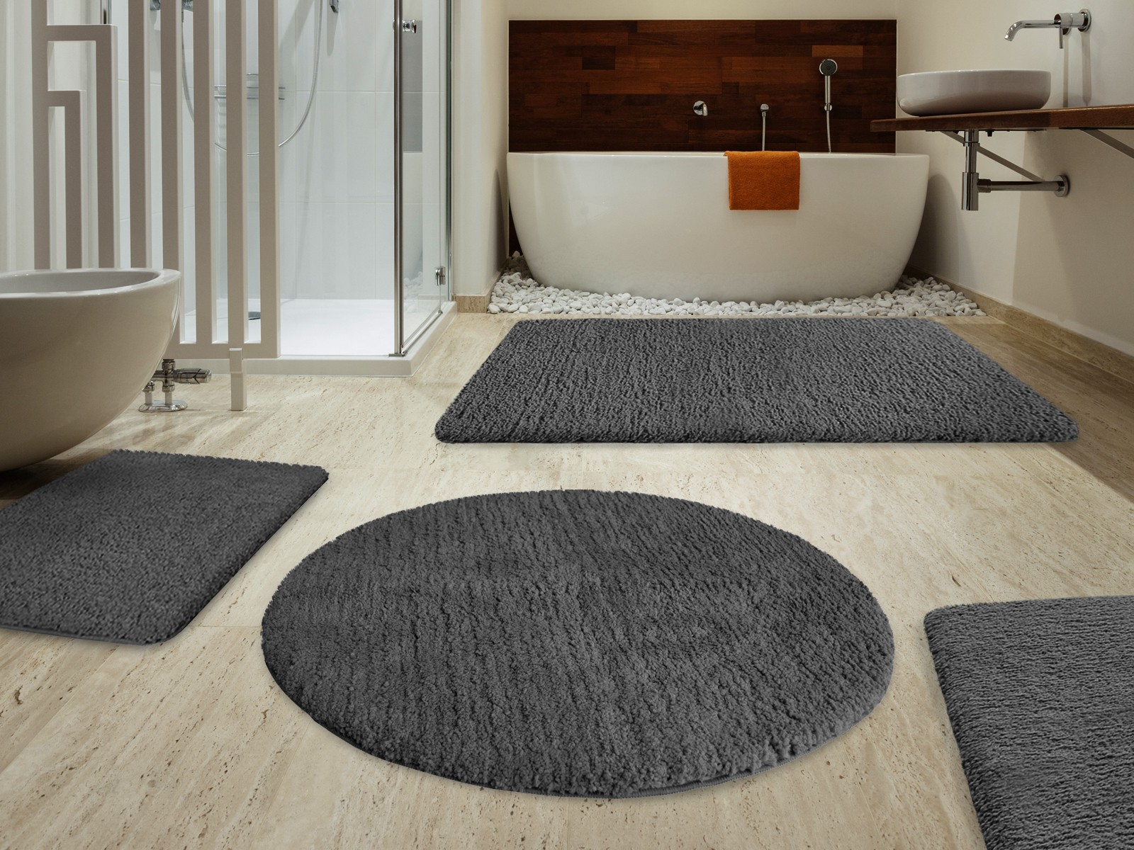 stormy black bath mat sets for floor mats