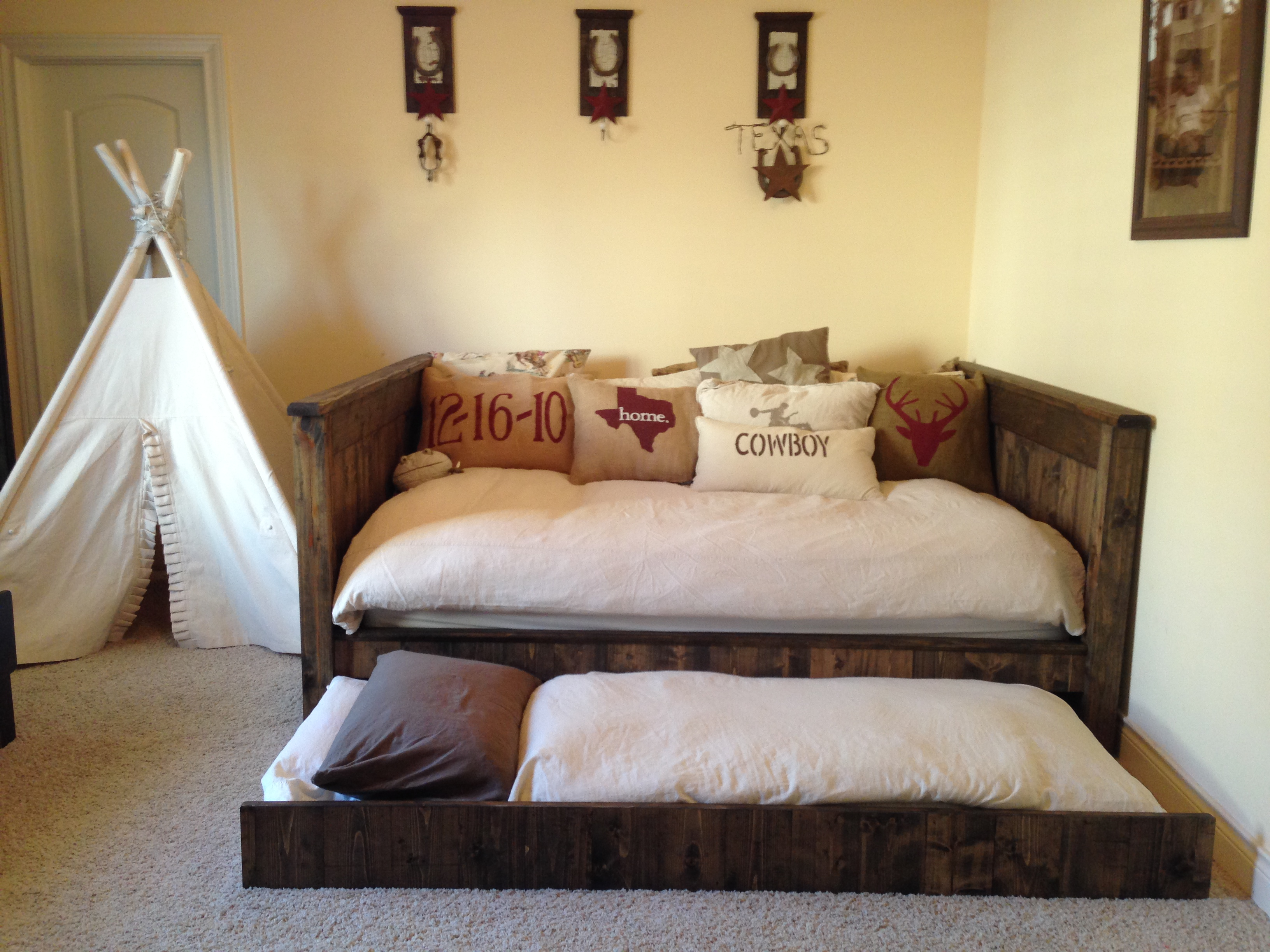 trundle with queen daybed ideas