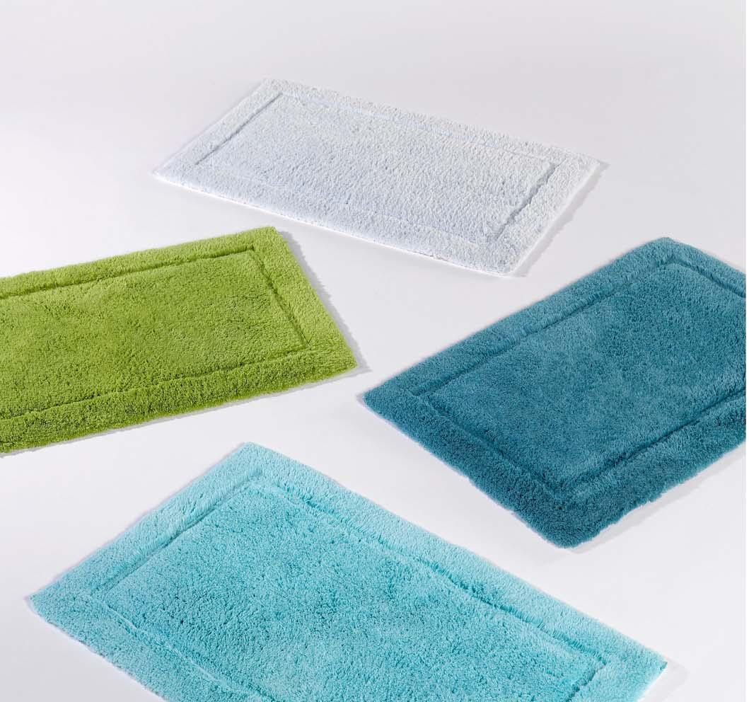 unique assorted bath mat 4 pcs