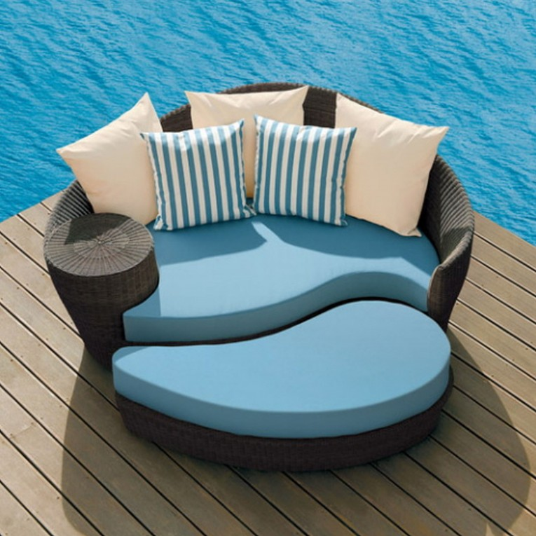Unique Blue Chairs Reeds Furniture With Black Arm Wicker Furniture