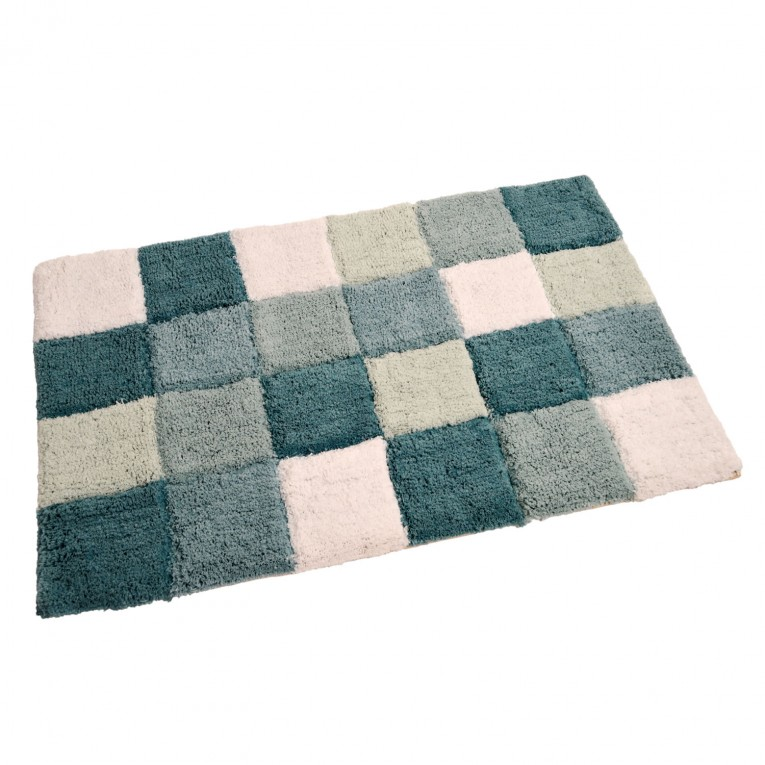 Viesta Bath Mat Assorted Type Chess Pattern For Bath Room