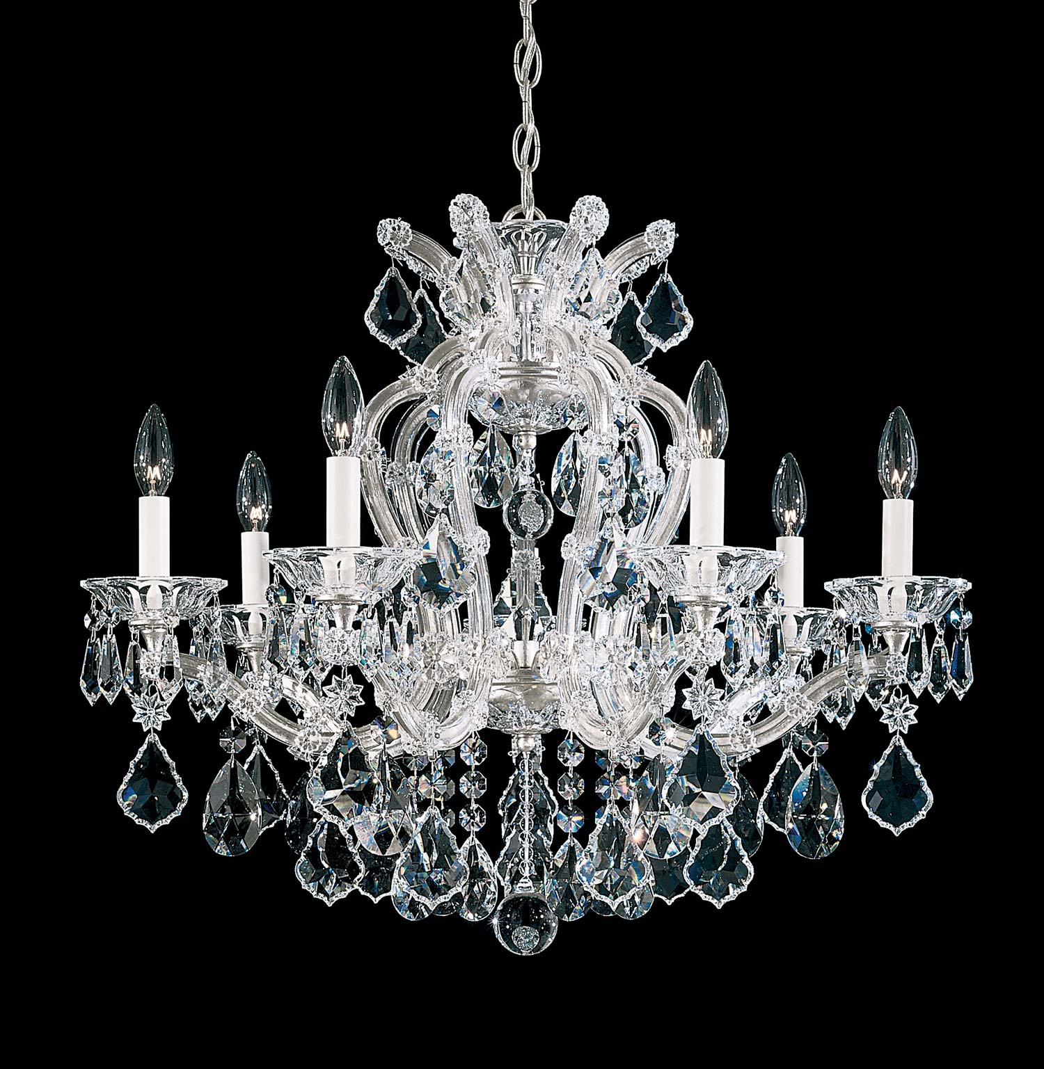 Home Ideas Beautiful Light Maria Theresa Chandelier For Home
