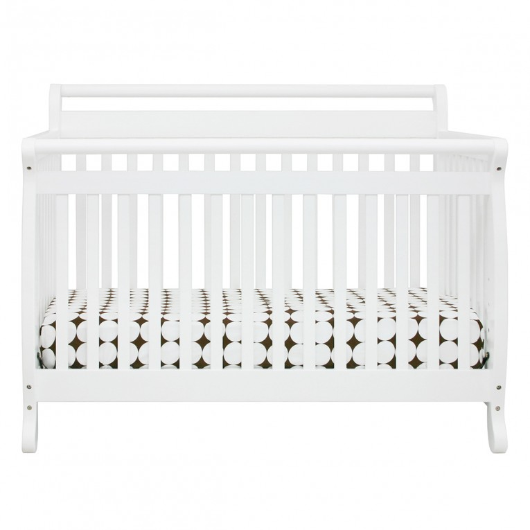 White Baby Crib Simplybabyfurniture For Nursing
