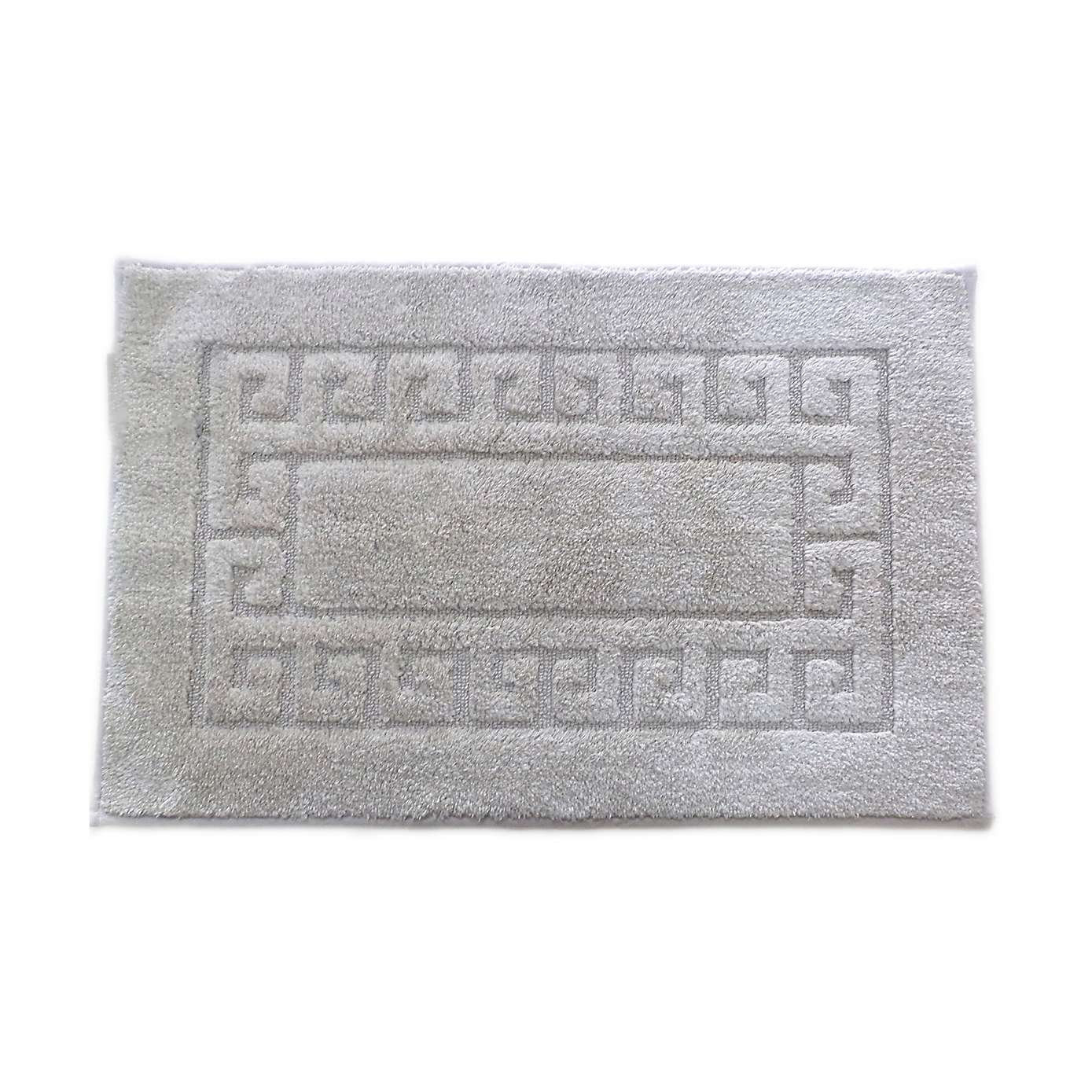 wondrous gray bath mat with non slip cotton