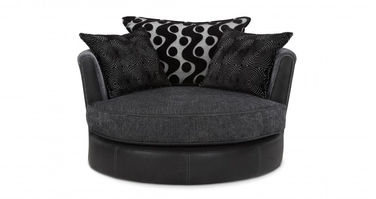 Admirable Cannon Swivel Cuddle Chair With Cushion And For Your Beautiful Living Room Ideas