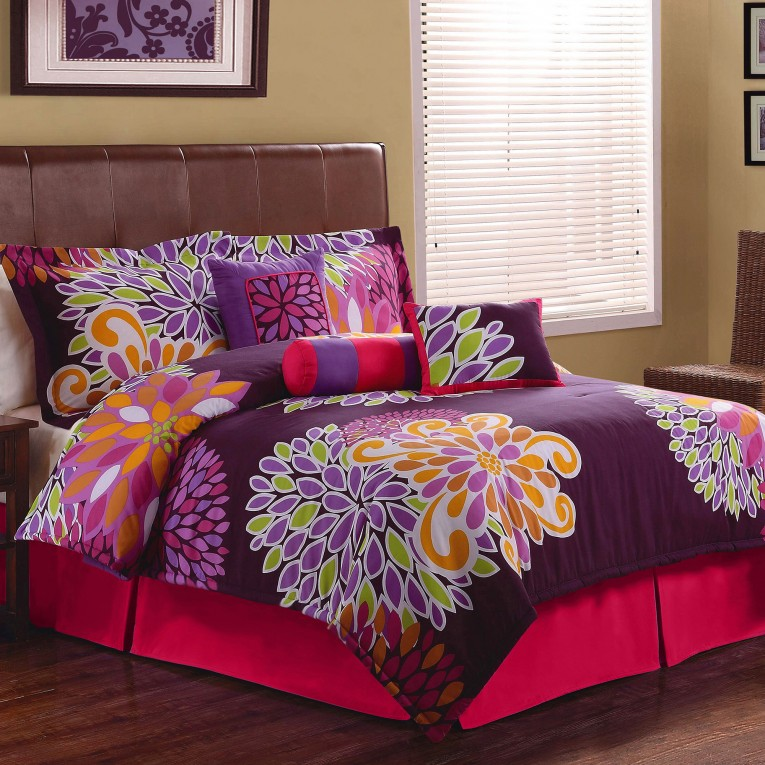 Admirable Comforters For Teens With Pink Colors