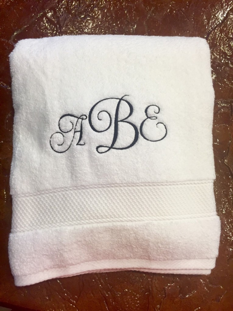 Admirable Monogrammed Bath Towels With Personalized Towel Of Monogrammed Towel Set Ideas
