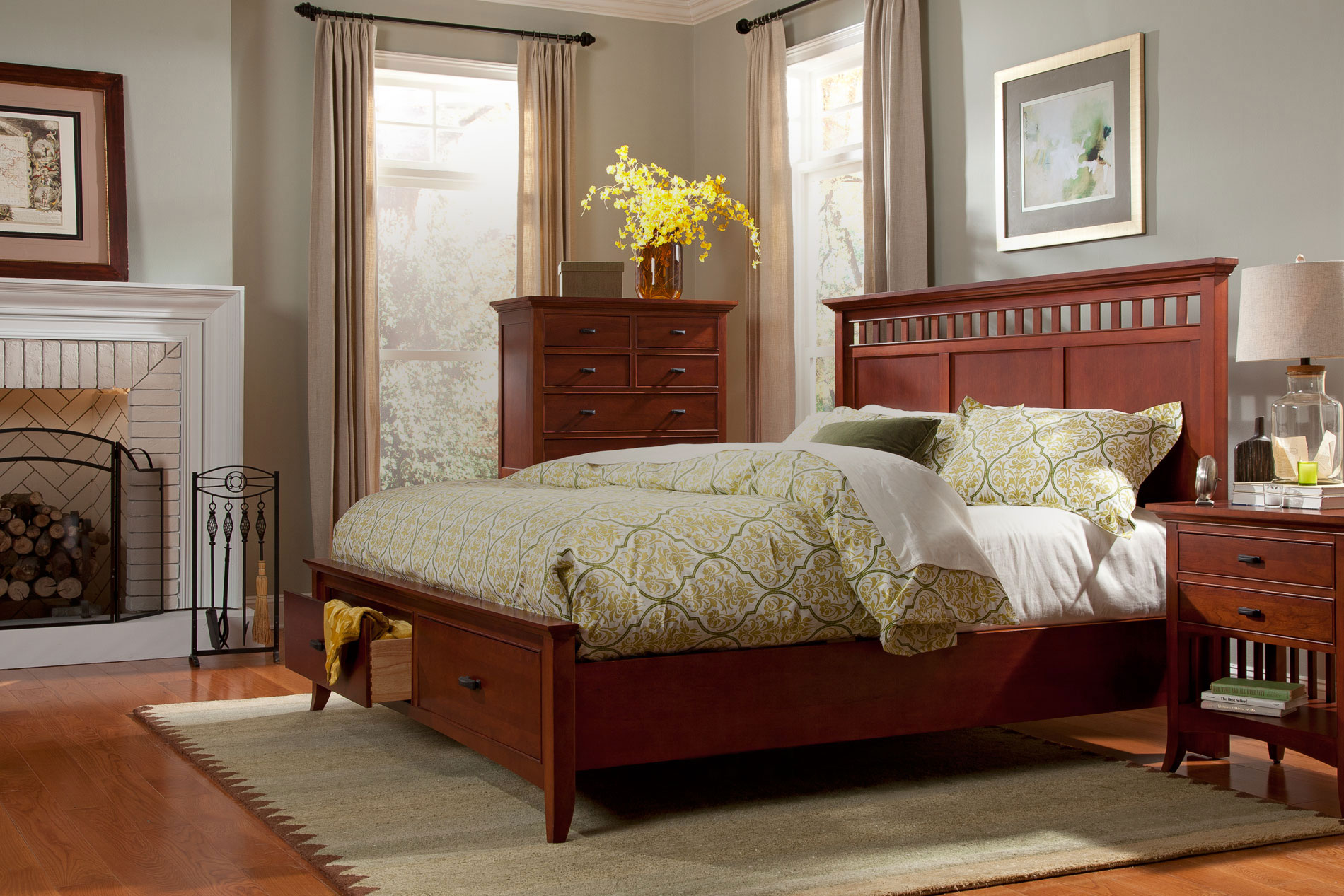 Admirable romance bedding with headboards combined with rugs and sidetables also lamps plus sofas from cresent furniture for your home furniture ideas